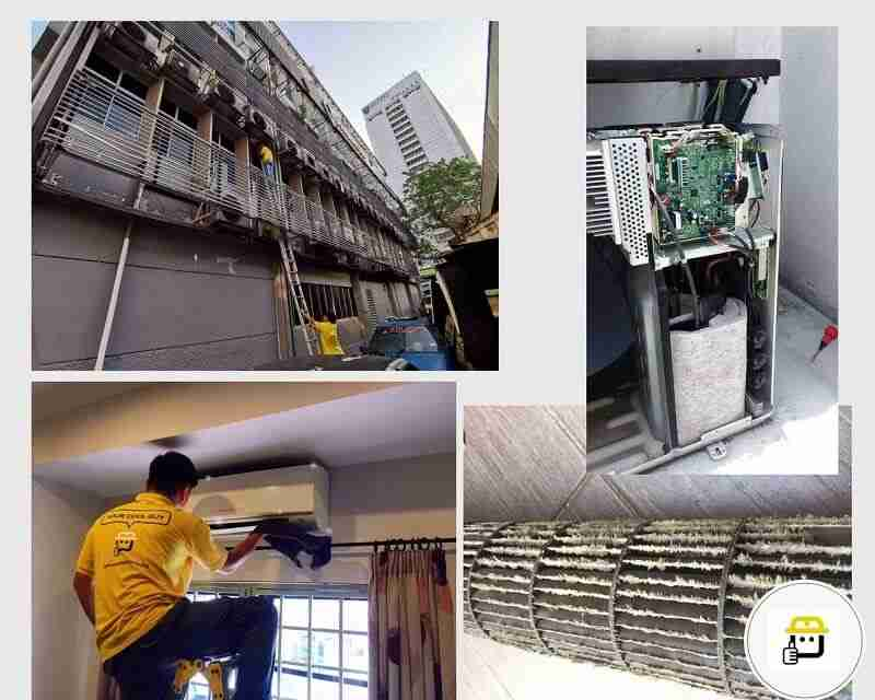 aircond service maintenance repair
